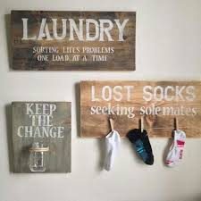 Laundry Room Decor   Super Cute Ideas Especially For The Change Jar And  Lost Socks