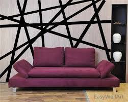 wall decal awesome black stripe removable decals creative stripes for livingroom modern vinyl home design interior