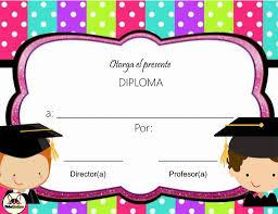 Diplomas Personalizados Descarga Gratis Fichas Escolares