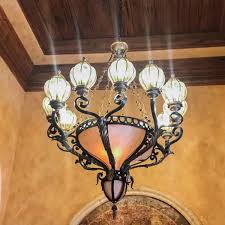 old world maitland smith chandelier