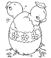 Simple easter egg design, color the curved and straight lines: Top 25 Free Printable Easter Egg Coloring Pages Online
