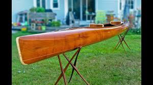 building a wooden kayak making the microbootlegger