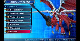 Digimon World Championship Digivolution Chart Walkthrough Game Indo Evolution Guide Digimon World Re