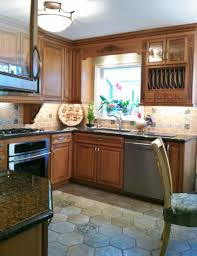 Cabinets Above Kitchen Window Cool Home Decor