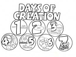 Adam And Eve Were Called To Rule Creation Coloring Page Children S