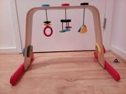 wooden ikea leka baby gym play arch