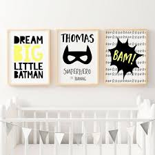 boy superhero nursery or bedroom wall art decor prints set of 3 on set of 3 wall art australia with nursery print sets baby boys girls artwork prints online australia