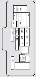acura tl (2001) fuse box diagram auto genius 1997 acura cl fuse box diagram at 2001 Acura Tl Fuse Box Diagram