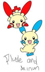 Pokemon Plusle Evolution Chart Pinterest