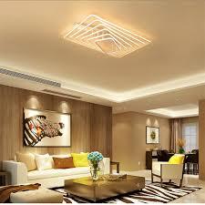 Đèn LED Ốp trần Đèn hình chữ nhật phòng ngủ phòng khách nhà Đèn Led Nhà