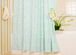 Sea Side Beach Aqua Teal Shower Curtain