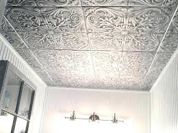 How To Install Decorative Ceiling Tiles Styrofoam Ceiling Tiles Installation Decorative Ceiling Tiles Silver 64