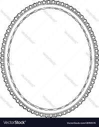 Oval frame design Transparent Vectorstock Oval Frame Is Simple Design Vintage Engraving Vector Image