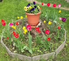 Small Round Flower Bed Design How To Make Round Flower Beds That Will Beautify Your Yard