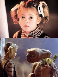 E.T. DREW BARRYMORE DIEULOIS