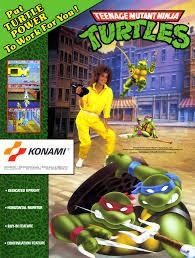 Ninja Turtles Arcade Cabinet Teenage Mutant Ninja Turtles World 4 Players Version X Rom