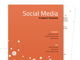 Social Media Proposal Template Social Media Proposal Template Proposable