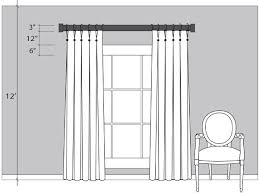 Charming Hang Curtain Rod Ideas with Curtains Putting Up Curtain Rods  Designs How To Hang Properly