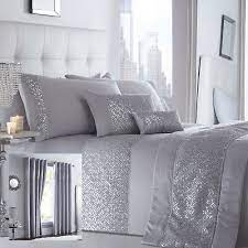 shimmer bedding range silver choice of