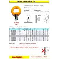Lifting Eye Bolt Capacity Chart Metric Eye Bolt Lifting