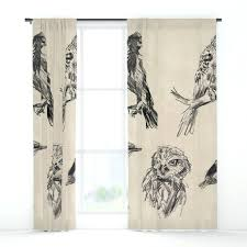 bird curtains bird vintage sketches 2 window curtains blue bird curtains uk