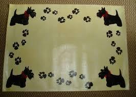 scottie dog gifts scottie dog floor cloth
