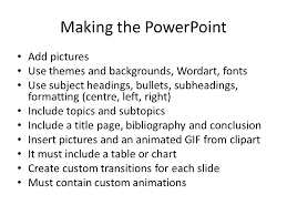powerpoint biography inf1070 powerpoint presentation research a topic find a topic that