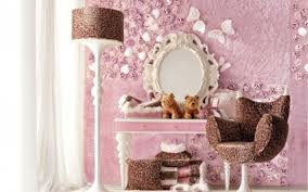 Pink Flower Wallpaper For Bedrooms White Bunk Beds Girls Room Wallpaper House Pink And Sweet Teen