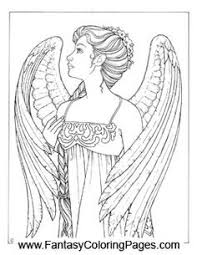 Printable Angel Free Coloring Pages On Art Coloring Pages