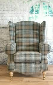queen anne wing back cottage chair lana