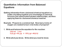 chemical equilibrium balanced equation for combustion of propane jennarocca