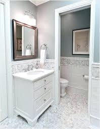 chair rail bathroom. Tile Chair Rail Trim Height In Bathroom Subway . T