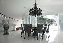 black chandelier dining room black chandelier dining room black lacquered dining table design best decoration