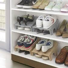 8Pcs Double Shelf <b>Shoe Rack</b> Cabinet <b>Shoe Storage</b> Organizer ...