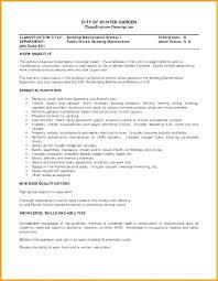 Builder Resume Sample Building Maintenance Technician Templates ...