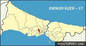 Image result for esenler haritası