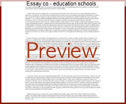 Education In Schools Essay Essay Co Education Schools Research Paper Academic Writing Service