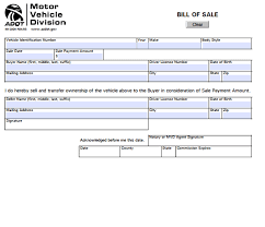 Print A Bill Of Sale Form For Free - April.onthemarch.co