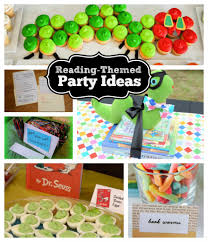 reading themed party ideas