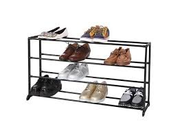 4 tier metal home portable shoes rack entryway shoe shelf shelving shoes organizer storage