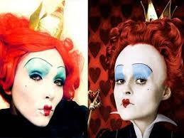 kandee johnson halloween makeup. queen of hearts (alice in wonderland) make-up (by kandee) | kandee johnson halloween makeup e