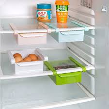 refrigerator racks. aliexpress.com : buy hot home plastic storage holders kitchen refrigerator rack fridge freezer shelf holder pull out drawer organiser space saver from racks aliexpress.com