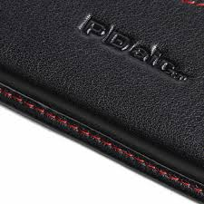 iphone se leather wallet sleeve case red stitch offers worldwide free by pdair