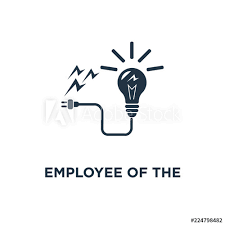 Employee Of The Month Award Employee Of The Month Icon Talent Award Successful Person