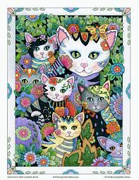 ilrator of best selling coloring books creative cats owlany more find this pin and more on kittens