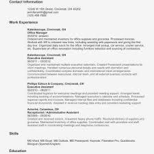Sample Resume Management Sample Resume For Management Accounting Graduate New Management