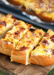 Cheesy Bacon Ranch Bread Mom On Timeout
