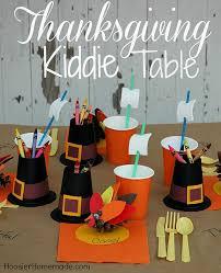 Thanksgiving Kiddie Table Hoosier Homemade