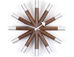 george nelson wheel wall clock