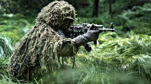 feature solr dressed in ghillie camouflag how to make a ghillie suit from scratch